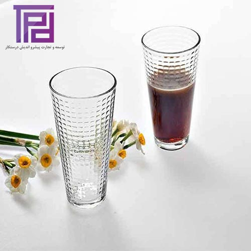 لیوان ونیز محصول شیشه و بلور کاوه | بازرگانی درستکار فروشنده انواع بلور ایرانی