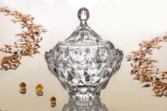قندان مانیسا محصول بلور و شیشه اصفهان